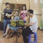 Phòng học Guitar & Ukulele của FASOL
